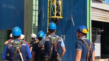 Aksa Enerji Yüksekte Güvenli Çalışma Eğitimi